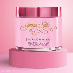 acrilico cover pink